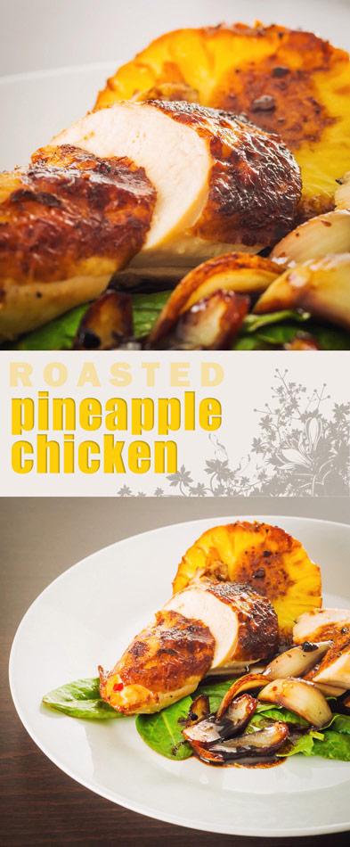 Roasted Pineapple Chicken Krumpli