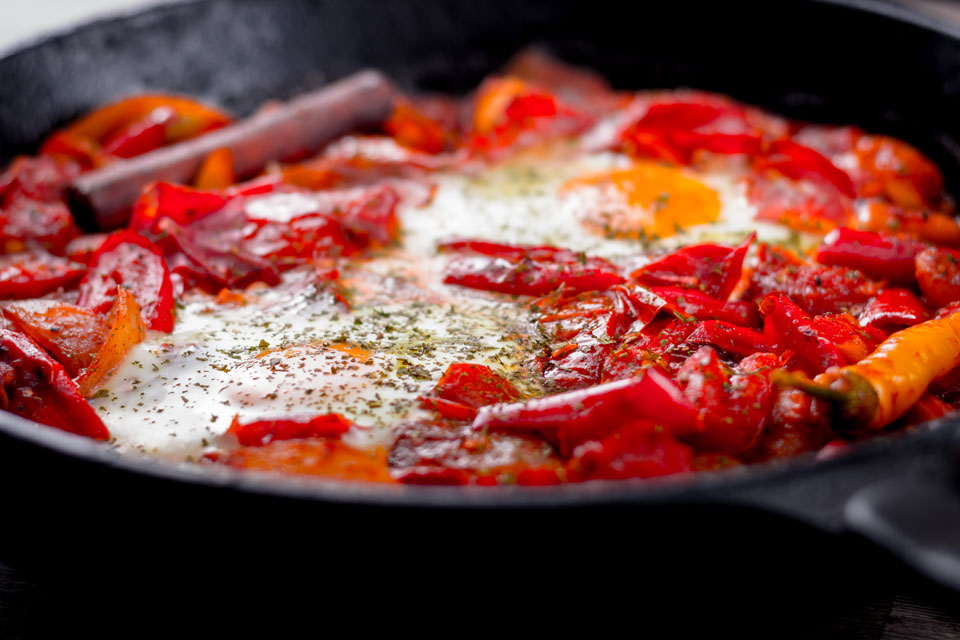 The Middle Eastern wonder that is Shakshouka is the ultimate one pot vegetarian dish, take your time and savour the joy!