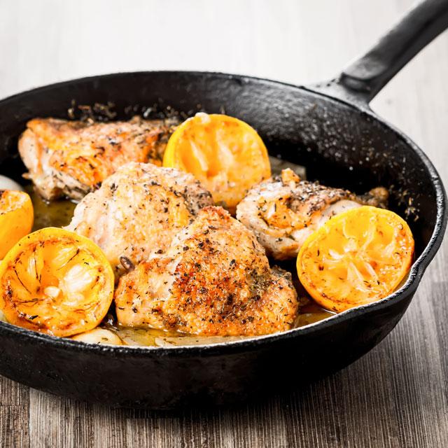 Zingy Summer Garlic Lemon Chicken