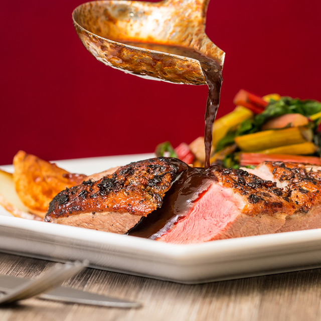 Duck breast with plum sauce a a nice play on a classic combination that is stupidly quick and easy to cook and is always a bit of a crowd pleaser
