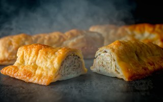 Aint nothing quite like a good sausage roll and this wee apple and mustard laced sausage roll in a shortcrust pastry is mind blowingly good!