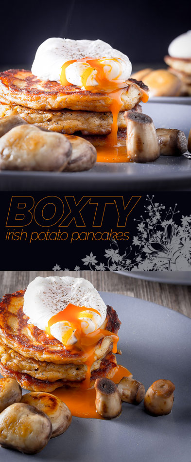 Boxty are an Irish potato pancake that I maintain are the worlds finest hangover cure and as an Englishman that is not easy to say!