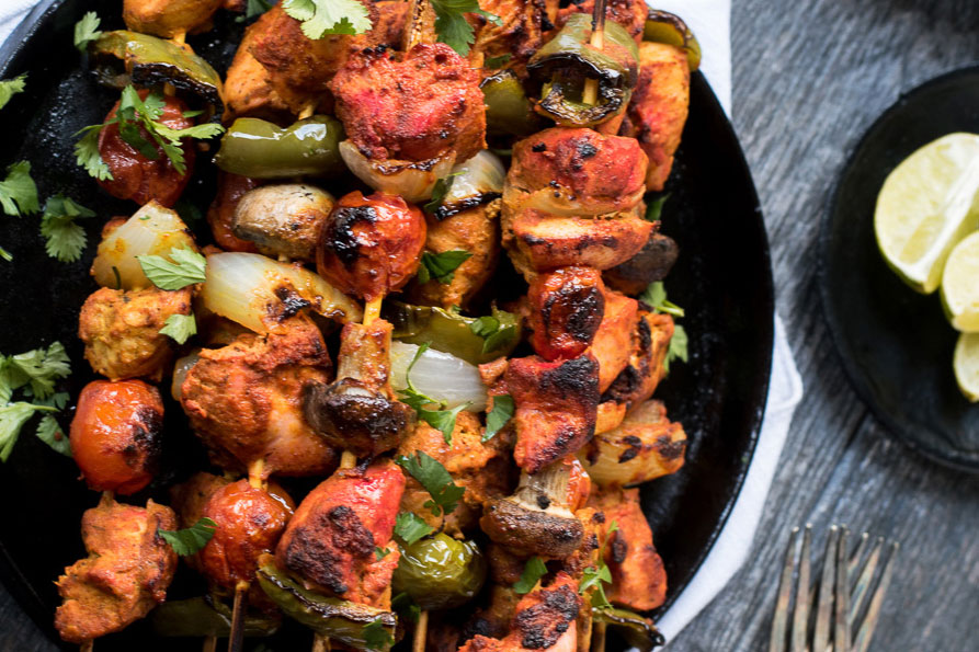 If you've got guests coming over, chicken tikka kebabs make a great menu item. I especially love to have summer cookouts and cook chicken tikka on the grill. Otherwise, it makes a pretty delicious and healthy meal for weeknights.
