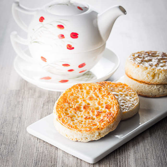 Homemade crumpets are a wonderful breakfast, brunch or supper treat and the finest way to increase your butter intake ?