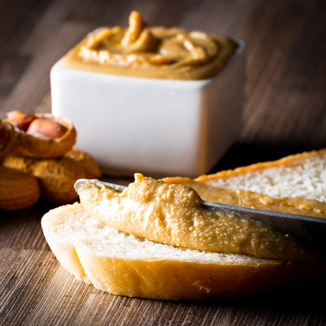 Homemade Peanut Butter is so simple to make, I have no idea who decided to put it in jar and pretend it is tough to make!