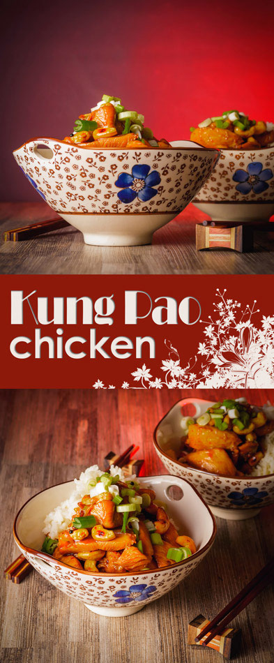 Kung Pao Chicken is a classic Chinese dish from the Szechuan region however it has long become a classic staple of the Westernised take away and this is my version!