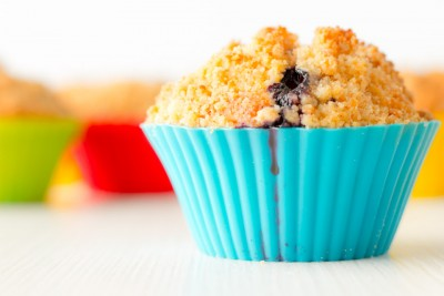 These delicious Lemon and Blueberry muffins are made even more special with the addition of a fantastic crumble topping to give them a unique crunch.