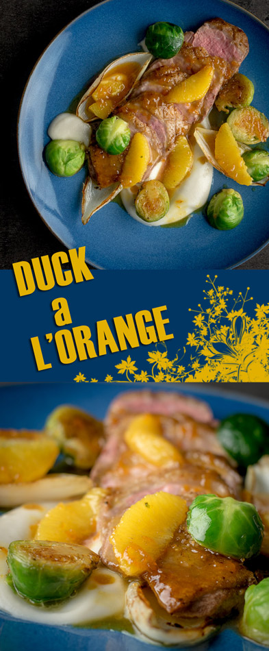 Welcome to another retro throwback recipe, Duck a l'orange may hark back to the 70's dinner parties but it still has a relevant place on any dinner table if you ask me!