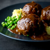 Faggots and Mash were the meatballs I grew up with a staple of the Midlands in the UK have sadly fallen out of favour but a revival is brewing!