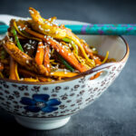 Chicken Lo Mein is a perennial takeaway favourite, my fakeaway version is fit for eating well before the delivery guy can get to you!