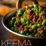 Keema matar is a classic Bangladeshi/Pakistani lamb curry featuring either lamb or mutton and peas in a delightfully simple spicy fragrant grav