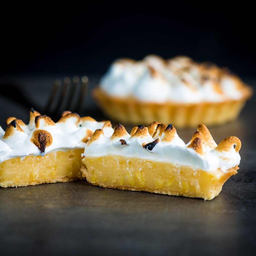 Lemon meringue pie was a real treat when I was growing up and still is one of my favourite deserts, these individual pies are designed for the smaller family or greedy couple... My wife and I are the latter ;)