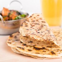 Easy Homemade Indian Chapati bread with Cumin