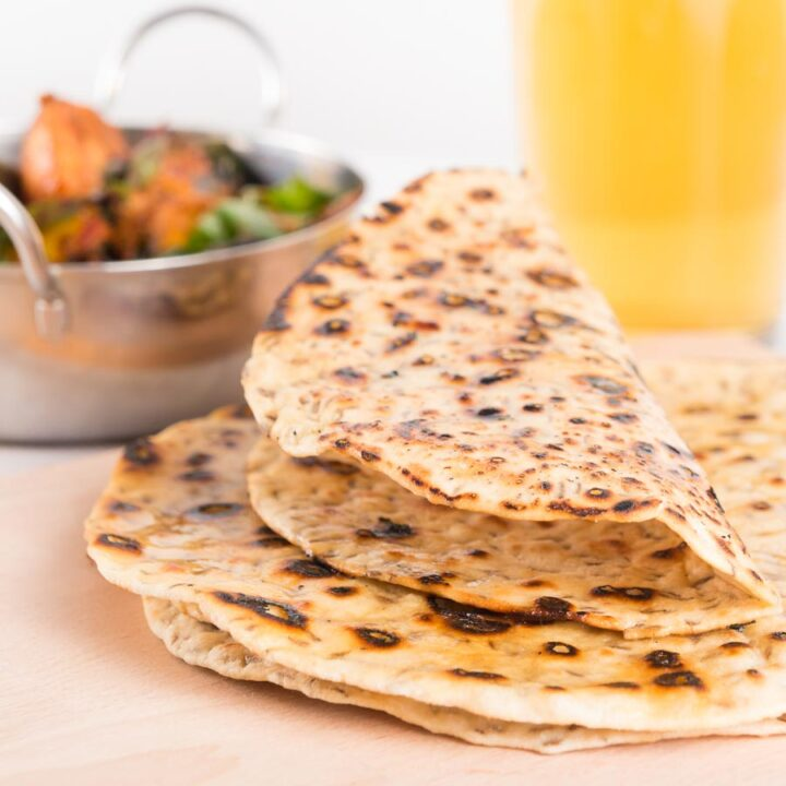 Indian food without bread seems empty, so knock up an easy batch of Indian chapati bread next time you are making a curry!