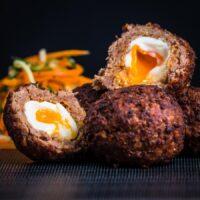 Indian Scotch Egg or Nargis Kebab