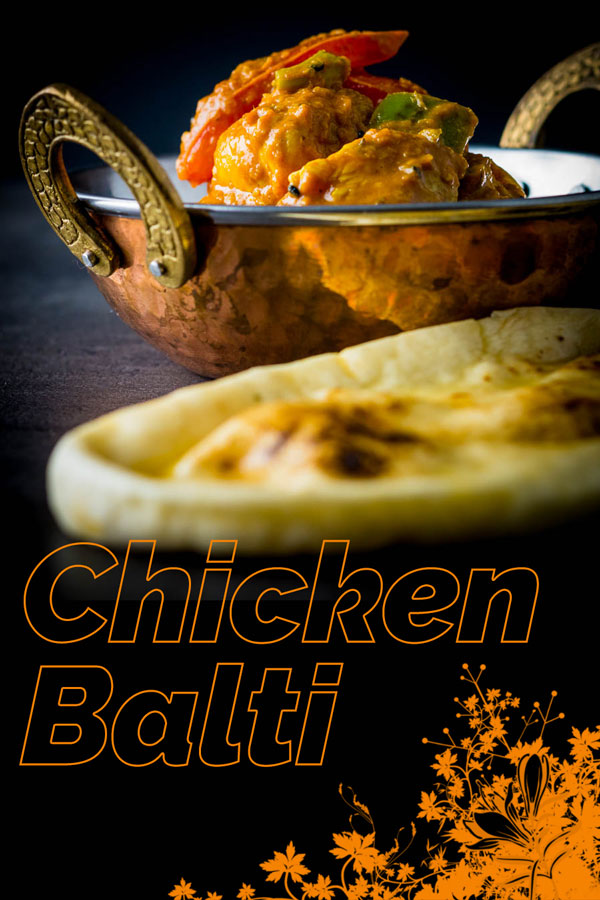Chicken Balti is the pride of Birmingham and a curry not of Indian but Anglo Indian heritage dating from the late 1970's and went global! #indian #curry #chickencurry #balti #baltirecipe #recipe #recipeideas #recipeoftheday