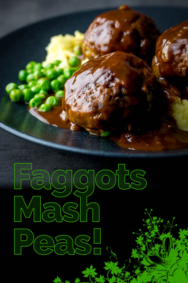 Faggots and Mash were the meatballs I grew up with a staple of the Midlands in the UK have sadly fallen out of favour but these old skool classics are still my favourite! #offal #britshfood #traditionalfood #faggots #recipe #recipeideas #recipeoftheday