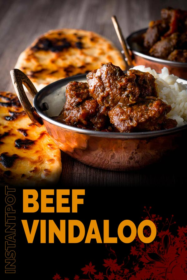 This Beef Vindaloo is my take on the Anglo Indian Vindaloo which is a take on the Indo Portuguese classic from Goa, who said fusion food is new? #curry #indianfood #dinnerfortwo #recipeideas #britishindianfood #spicy #recipeoftheday #recipeideas