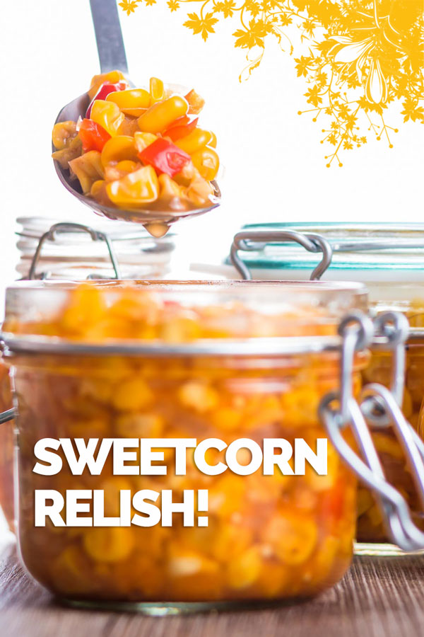 Sweetcorn Relish is my absolute favourite burger topping (although never alone), making it at home means none of the gloopy nonsense this is bright & zingy.