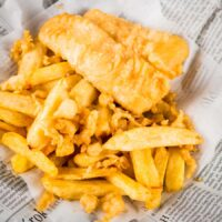 Chip Shop Fish & Chips... Kinda