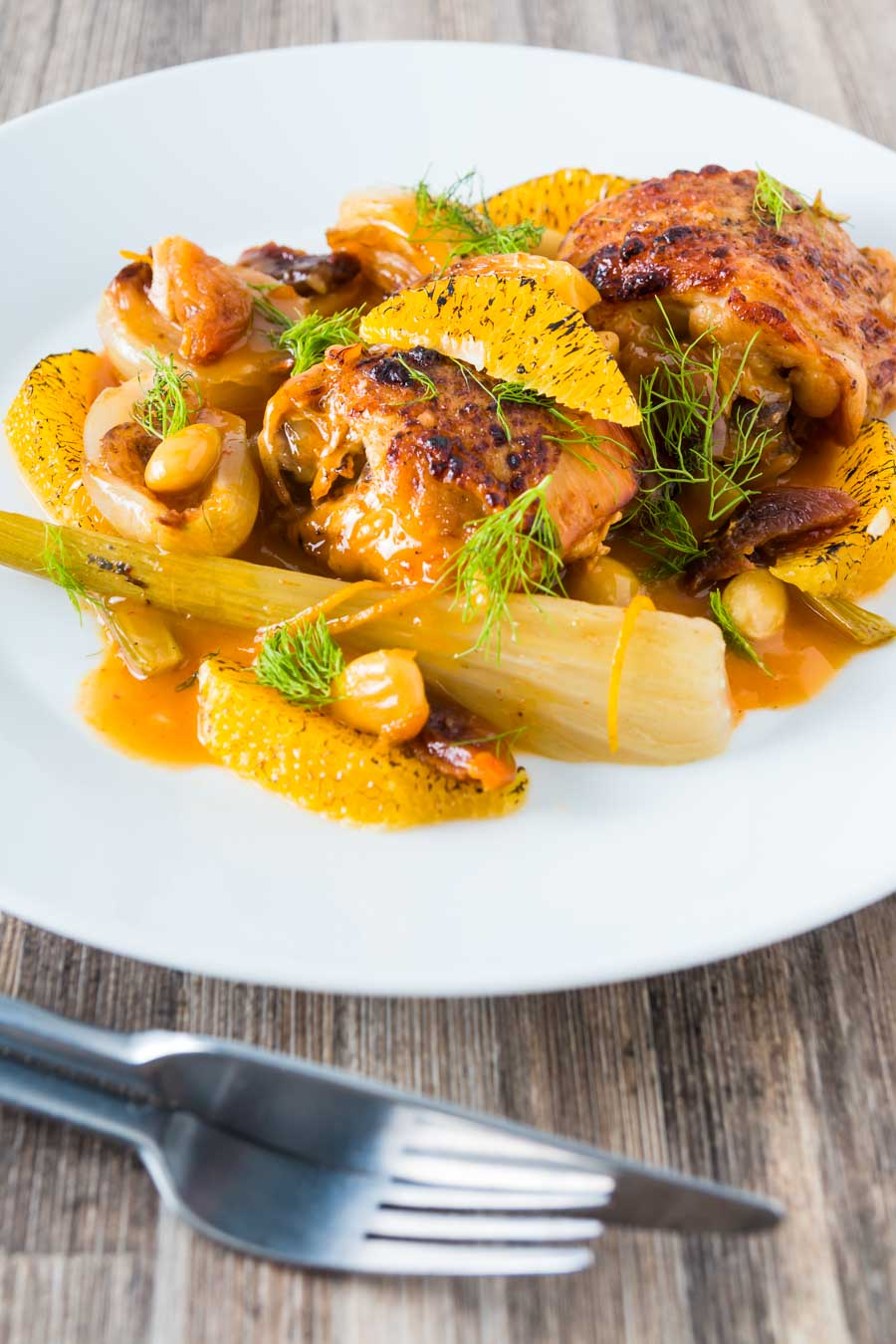 Cooking these Fruity Fennel Chicken Thighs in an Instant Pot reduces the time an old favourite slow cooker recipe cooks by 5 hours.