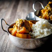 Burmese Pumpkin Curry with Tamarind