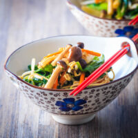 Recipe for Mushroom Chow Mein