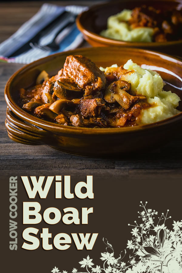 Wild boar is a fantastically underused meat that makes the most wonderful autumn or winter meal, this wild boar stew really show cases its flavour!