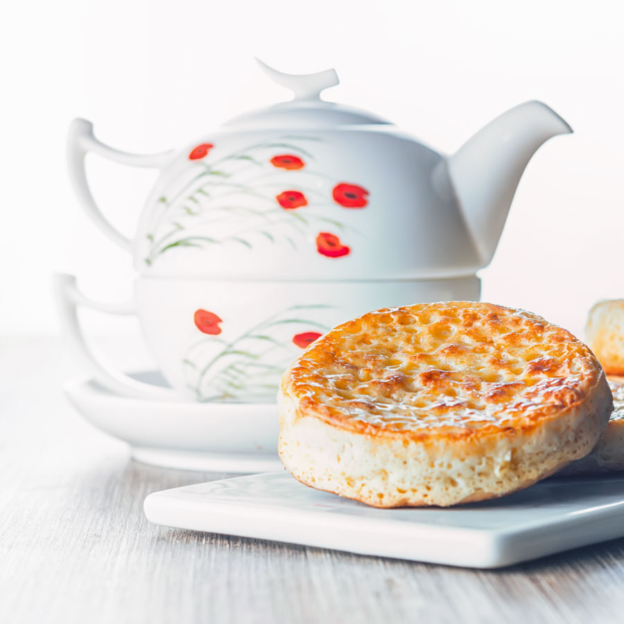 how to make crumpets recipe