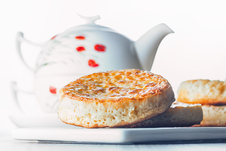 Homemade crumpets are a wonderful breakfast, brunch or supper treat and the finest way to increase your butter intake!