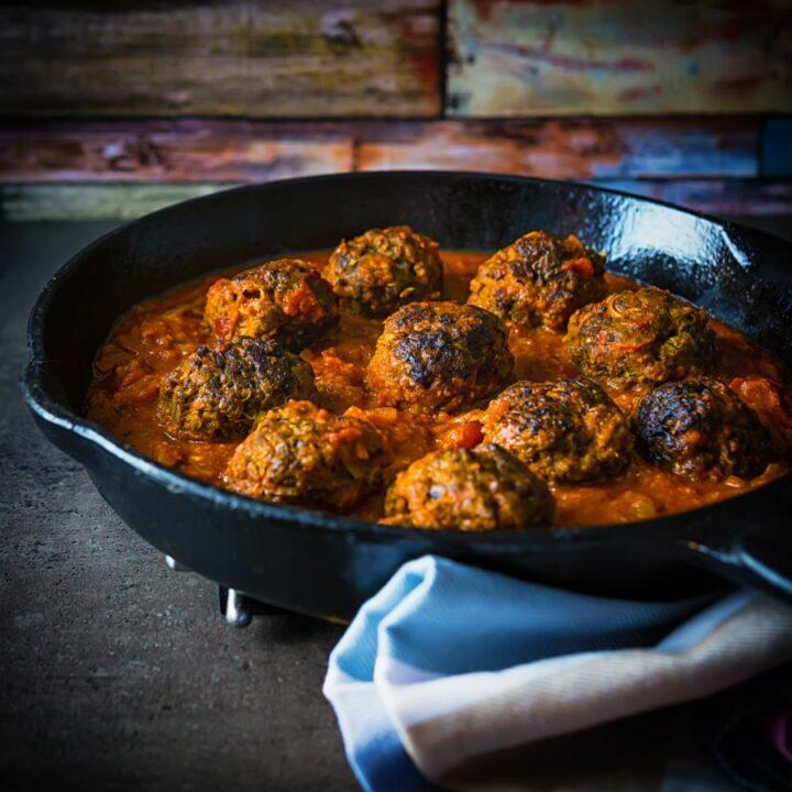 Indian Venison Meatballs