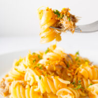 Smoked Mackerel Pasta With Chili