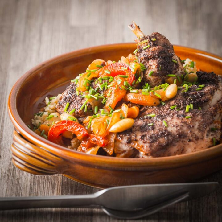 Spiced Rabbit Tagine