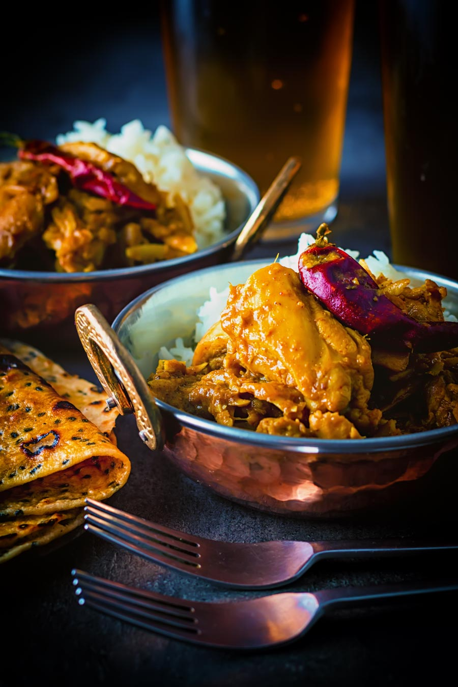 Heady with Cloves & Cinnamon this Fragrant Indian Coconut Chicken Curry packs a punch of chili to get the blood racing, which of course you could tone down