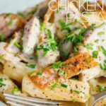 Chicken thighs provide an intense chicken flavour in this creamy lemon chicken pasta, throw in some anchovies and capers and you have a taste sensation!