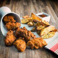Super Crispy Spiced Fried Chicken Wings