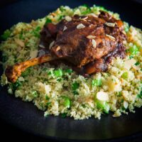 Slow Roast Duck Legs With Dates and Tamarind