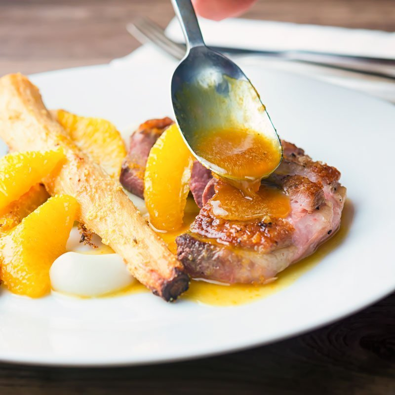 Welcome to another retro throwback recipe, Duck a l Orange may hark back to the 70's dinner parties but it still has a relevant place on any dinner table if you ask me!