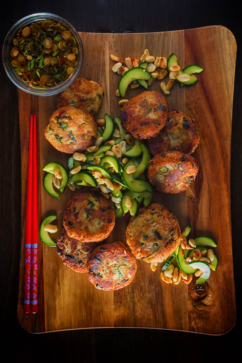 Canned tuna forms the foundation of these Spicy Tuna Fish Cakes leaning heavily on the flavours of Thailand and they make a perfect light meal or snack.