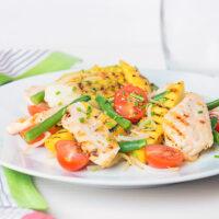 Griddled Chicken and Mango Salad