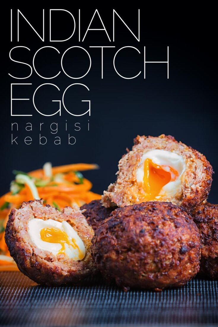 I love a good Scotch Egg & and this Indian version is called a Nargis Kebab and actually predates the British version!