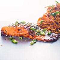 Pan Fried Teriyaki Salmon