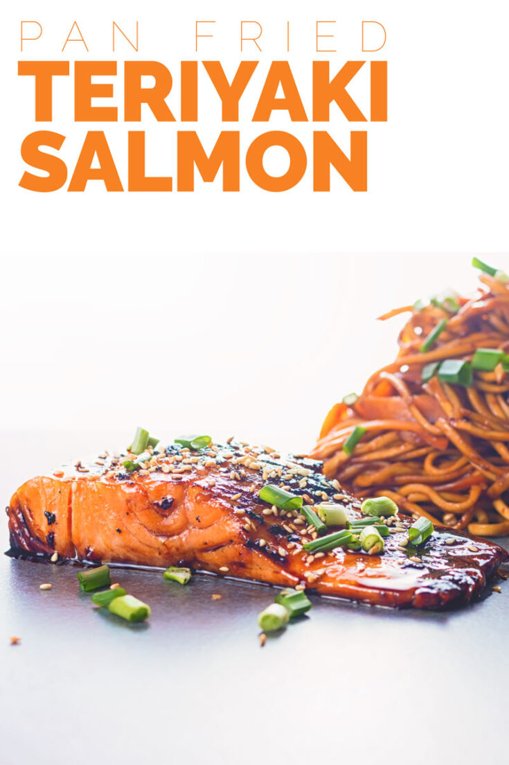 Pan fried Teriyaki Salmon is one of the most delightful and simple dishes you could ever cook, the wonderful sauce is the perfect match for the rich fish. #salmon #fishsuperideas
