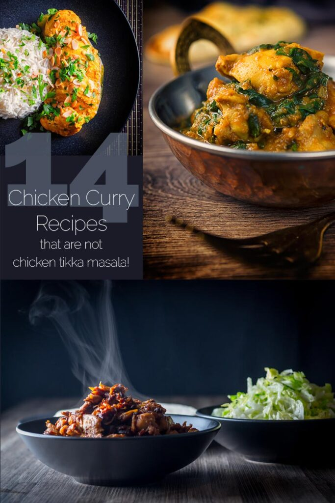The next time you reach for the takeout menu to order up an Indian, These Chicken curry recipes are packed full of flavour from sweet to spicy, all of these homemade chicken curries are delicious some can be ready in less than 30 minutes other are long and slow cooked for a flavour packed meal, What are you waiting for? #bestcurryrecipes #bestchickenrecipes
