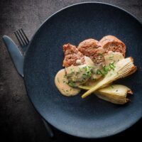 Camembert Pork Tenderloin Fillet with Fennel