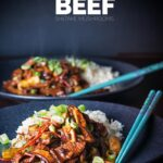 This Stir Fry Beef with Shiitake Mushroom is so quick and simple to make, who needs to wait for the delivery guy and this is quicker, cheaper and tastes glorious!