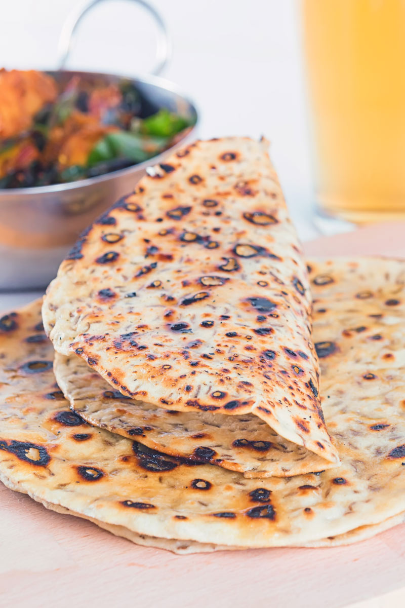 Indian food without bread seems empty, so knock up an easy batch of Indian chapati bread next time you are making a curry! #indian #indianfood