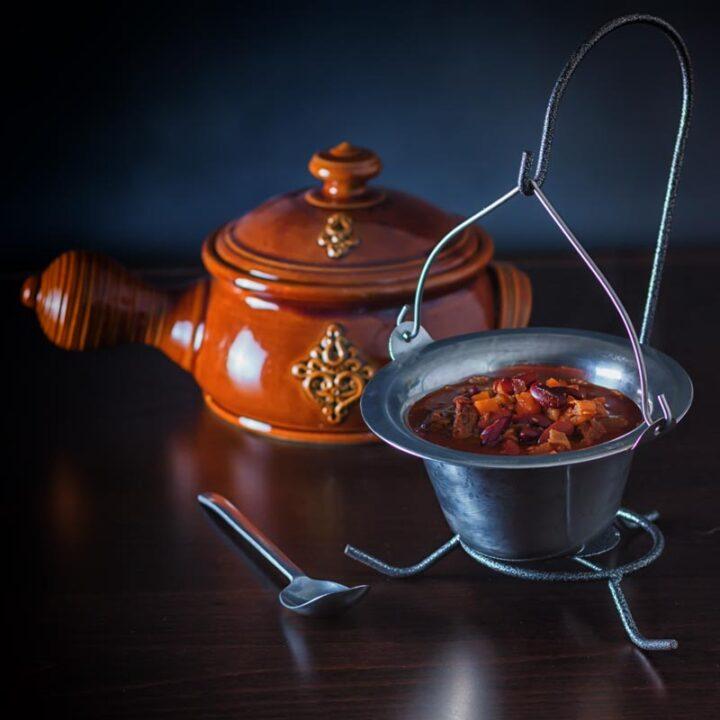 InstantPot Babgulyás or Hungarian Bean Goulash