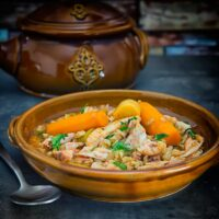 Rabbit Stew with Pearl Barley