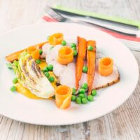 Roasted Pork Loin with Carrot